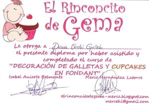 cupcake rinconcito de gema enero 2012