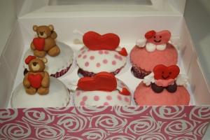 Cupcake´s para San Valentín