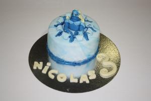 tarta infantil gormiti del agua 1