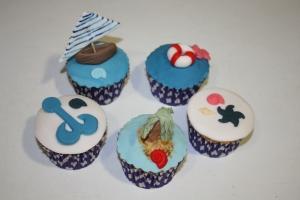 cupcakes marineras primera comunion 1