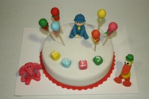 tarta infantil pocoyo y sus amigos 1