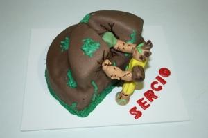 tarta gormiti tierra roca 1