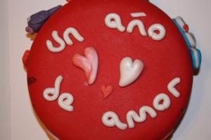 tarta aniversario un ac3b1o de amor 2