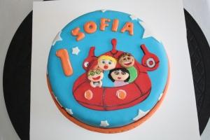 tarta infantil little einstein 1