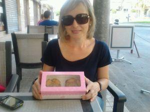 cupcakes de galleta y almendra crocanti 3