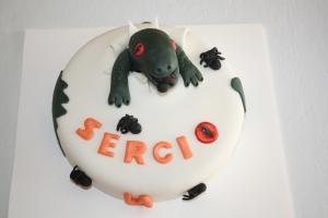 tarta decorada infantil dinosaurio 1