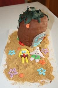tarta infantil casa pic3b1a bopesponja 1