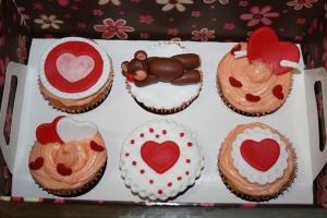 cupakes san valentin 2