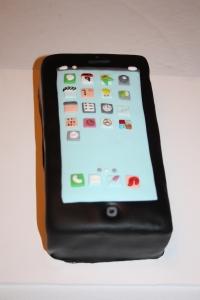 tarta forma iphone 5 2