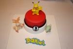 Tarta Pokemon Pikachu y pocoball (1)