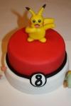 Tarta Pokemon Pikachu y pocoball (2)
