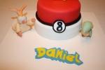 Tarta Pokemon Pikachu y pocoball (6)