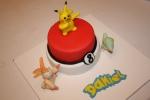 Tarta Pokemon Pikachu y pocoball (9)