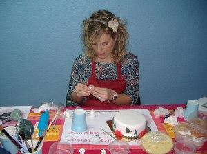 Curso tartas nivel 1 Di-Tartas Elda-Alicante Navidad 2012 (14)