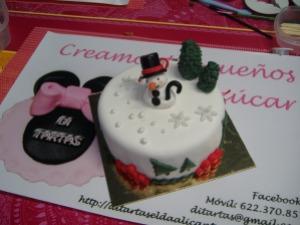 Curso tartas nivel 1 Di-Tartas Elda-Alicante Navidad 2012 (18)