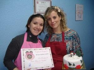 Curso tartas nivel 1 Di-Tartas Elda-Alicante Navidad 2012 (19)