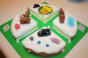 tarta 4 en 1 guardia civil, ganchillo, maquina coser y catedral guadix (3)