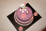 Tarta Hello Kitty cupcake dos pisos (2)