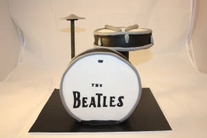 tarta bateria the beatles (4)