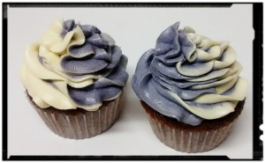 PAP Frosting bicolor para cupcakes