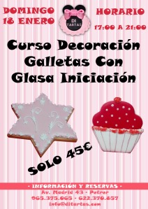 Curso Galletas Glasa Iniciacion