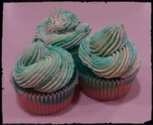 cupcakes arcoiris